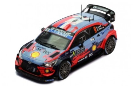 ixo 1/43 HYUNDAI I20 COUPE WRC - #9 S.LOEB - D.ELENA WINNER RALLYE MONTE-CARLO 2021