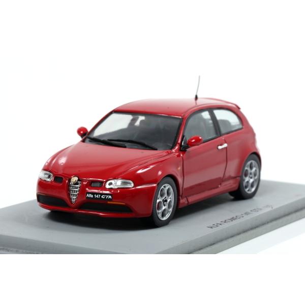 【スパーク】 1/43 Alfa Romeo 147 GTA Red