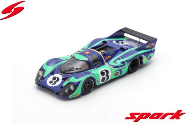 Spark 1/43 Porsche 917 LH No.3 2nd 24H Le Mans 1970 G. Larousse - W. Kauhsen