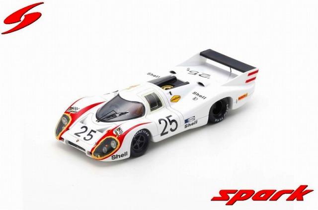 Spark 1/43 Porsche 917 LH No.25 24H Le Mans 1970 V. Elford - K. Ahrens Jr.