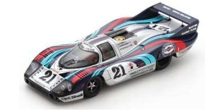Spark 1/43 Porsche 917 LH No.21 24H Le Mans 1971 G. Larrousse - V. Elford