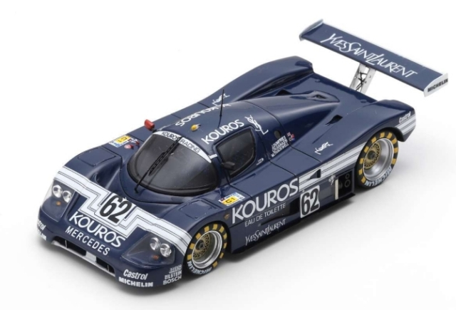 spark 1/43 Sauber C9 No.62 24H Le Mans 1987 J. Dumfries - C. Ganassi - M. Thackwell