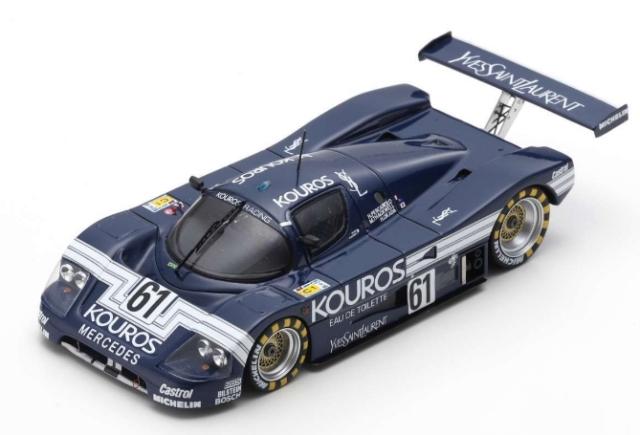 spark 1/43 Sauber C9 No.61 24H Le Mans 1987 H. Pescarolo - M. Thackwell - H. Okada