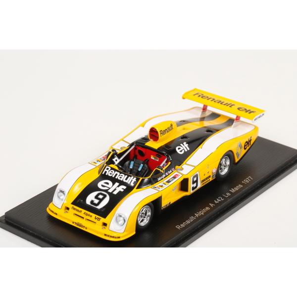 【スパーク】 1/43 Renault-Alpine A442 No.9 Le Mans 1977  J.-P. Jabouille - D. Bell