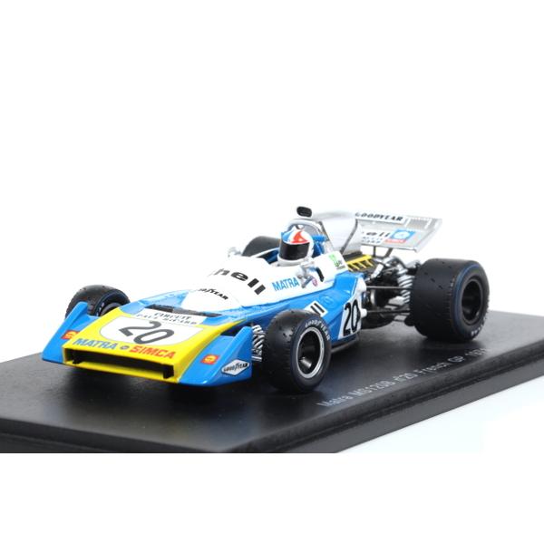【Spark】 1/43 Matra MS120B No.20 French GP 1971 Chris Amon