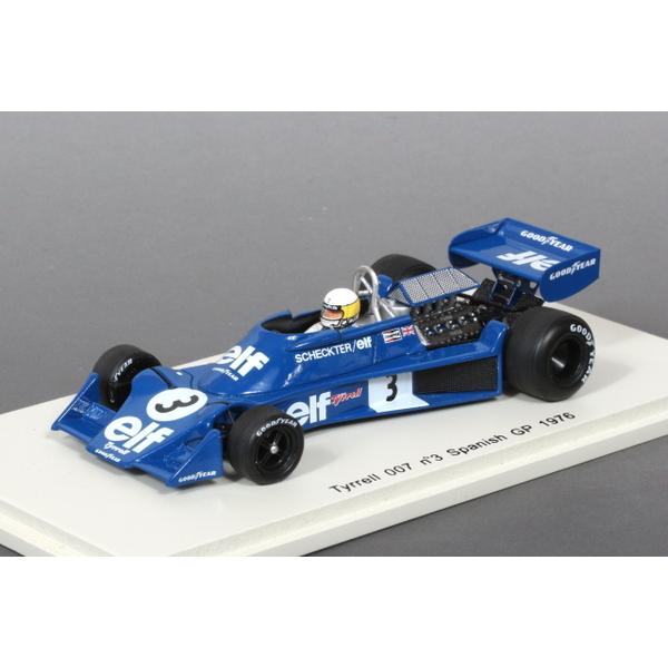 【Spark】 1/43 ティレル 007 スペインGP 1976 No.3 J.Scheckter