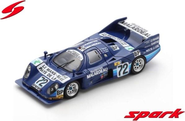 Spark 1/43 Rondeau M382 Ford No.72 24H Le Mans 1983 X. Lapeyre - D. Snobeck - A. Cudini
