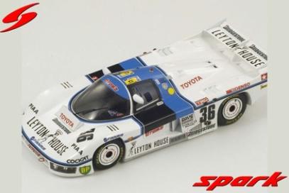 spark 1/43 TOYOTA 85 C No.36 24H Le Mans 1985 S. Nakajima - M. Sekiya - K. Hoshino