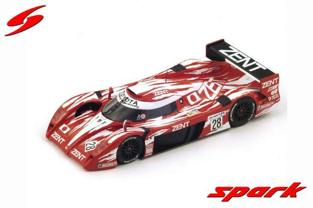spark 1/43 Toyota GT-One n.28 Le Mans 1998 - M. Brundle - E. Helary - E. Collard