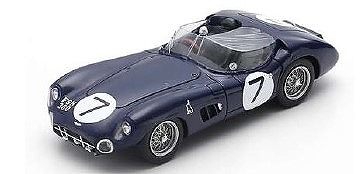 <予約> [Spark] 1/43 Aston Martin DBR 1 No.7 3rd 24H Le Mans 1960 J. Clark - R. Salvadori