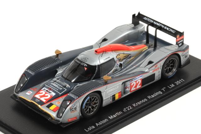 spark 1/43 Lola Aston martin No.22 Kronos Racing 7th LM 2011