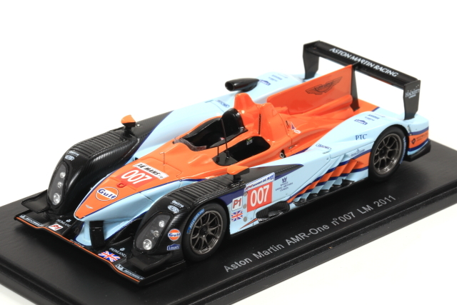 spark 1/43 Aston Martin AMR-One No.007 LM 2011