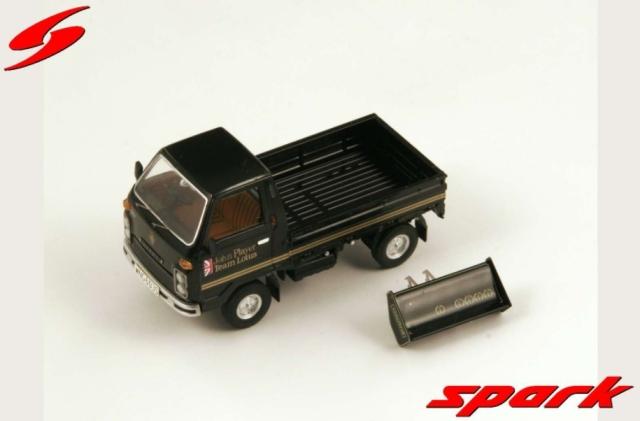 spark 1/43 HONDA N360 CLASSIC TEAM LOTUS BLACK