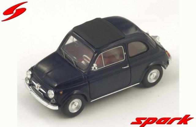 spark 1/43 FIAT 500F 1965 BLUE