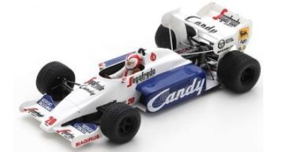 Spark 1/43 Toleman TG184 No.20 Monaco GP 1984 Johnny Cecotto