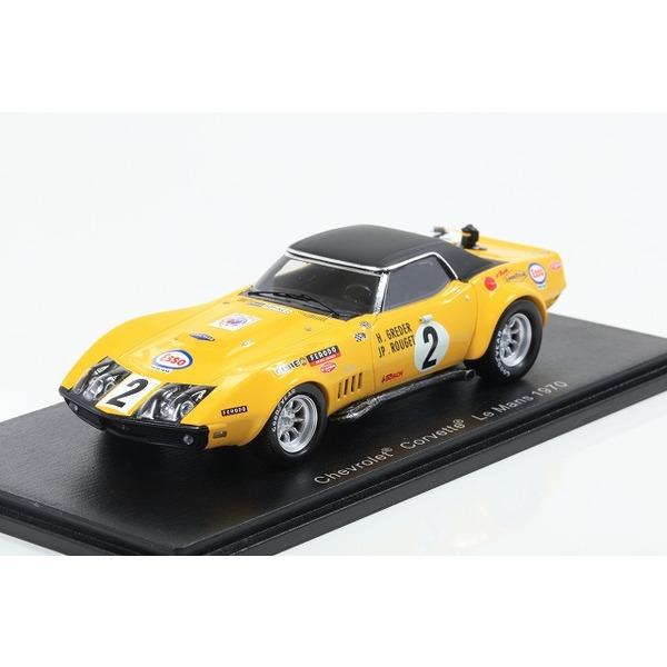 【Spark】1/43 Chevrolet Corvette No.2 24H Le Mans 1970 H. Greder - J.-P. Rouget
