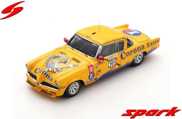Spark 1/43 Studebaker No.101 Winner Carrera Panamericana 1999 P.de Thoisy - J-P. Gontier