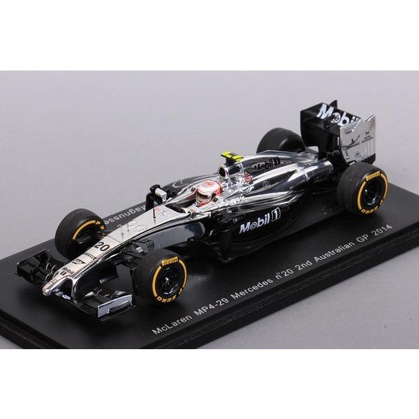 【スパーク】 1/43 マクラーレン MP4-29 メルセデス No,20 2nd オーストラリア GP 2014 K,マグヌッセン