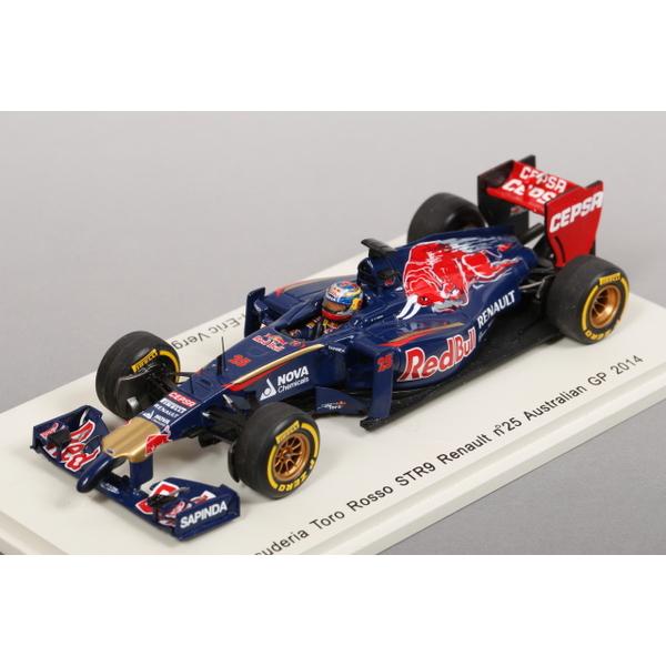 【spark】 1/43 スクーデリア トロロッソ STR9 ルノー オーストラリアGP2014 No.25