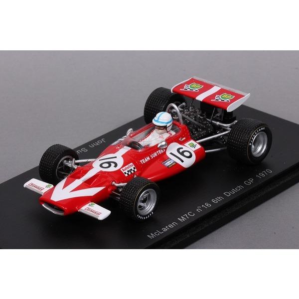 【スパーク】 1/43 マクラーレン M7C No,16 6th オランダGP 1970 J.Surtees