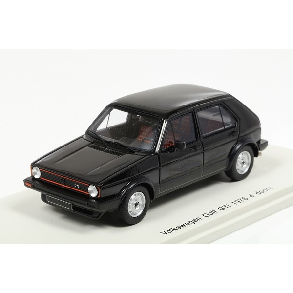 【スパーク】 1/43 Volkswagen Golf GTI 1976 4 doors Black