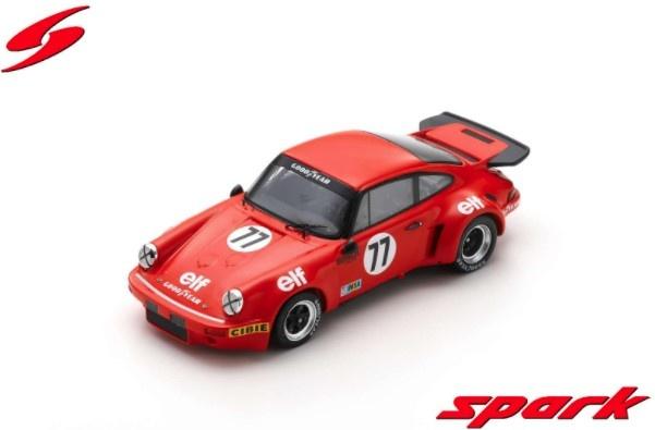 Spark 1/43 Porsche Carrera RSR No.77 14th 24H Le Mans 1976 T. Vaugh - J. Rulon-Miller - J-P. Laffeach