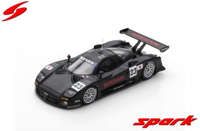 spark 1/43 Nissan R390 GT1 No.23 Pre-Qualifications 24H Le Mans 1997 K. Hoshino ? E. Comas ? M. Kageyama