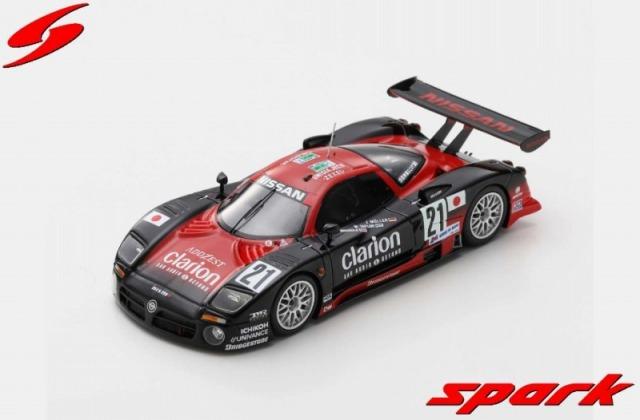 Spark 1/43 Nissan R390 GT1 No.21 24H Le Mans 1997 J. Muller - W. Taylor - M. Brundle