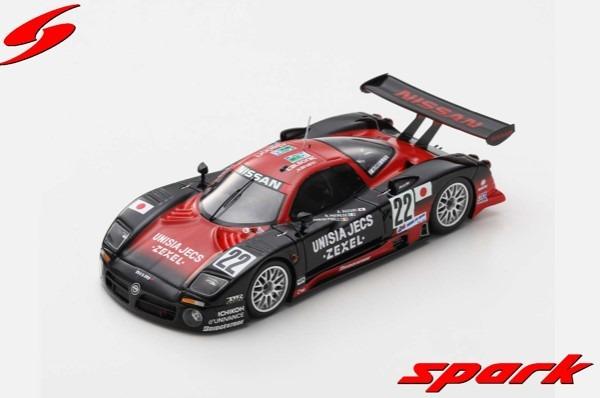 Spark 1/43 Nissan R390 GT1 No.22 24H Le Mans 1997 A. Suzuki - R. Patrese - E. van de Poele