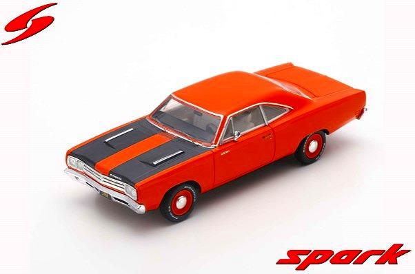 <予約> [Spark] 1/43 Plymouth Road Runner Hardtop 1968