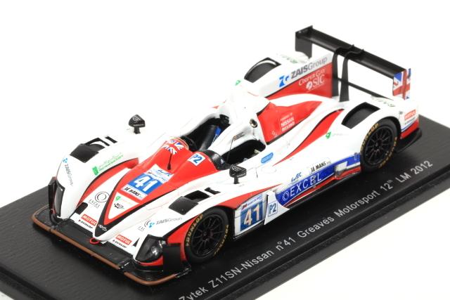 spark 1/43 Zytek Z11SN-Nissan No.41 Greaves Motorsport 12th LM 2012