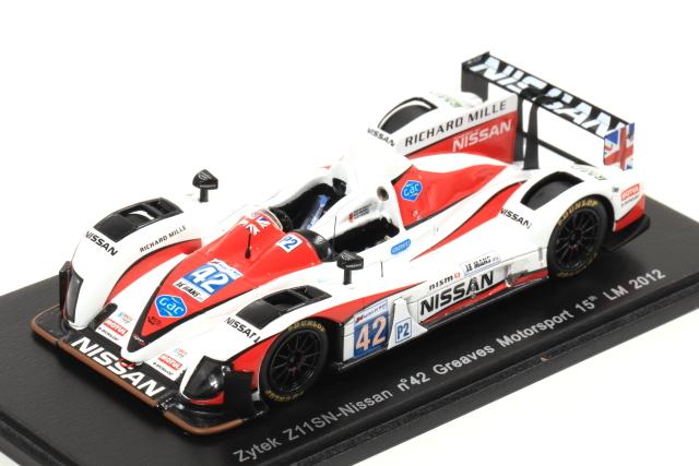 spark 1/43 Zytek Z11SN-Nissan No.42 Greaves Motorsport 15th LM 2012