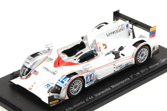 spark 1/43 HPD ARX 03b-Honda No.44 Starworks Motorsports 7th LM 2012 Winner LMP2 class