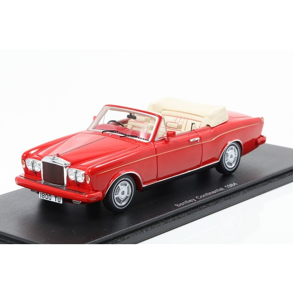 【Spark】 1/43 Bentley Continental Convertible 1984