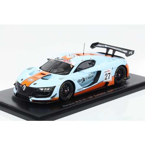 【Spark】 1/43  Renault R.S. 01 No.27 - GP Extreme - Gulf 12H 2017 F. Fatien - R. Goethe - S. Hall