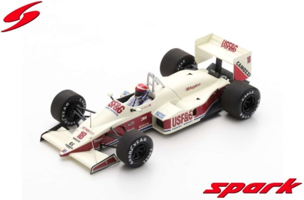 Spark 1/43 Arrows A10B No.18 3rd Italian GP 1988 Eddie Cheever