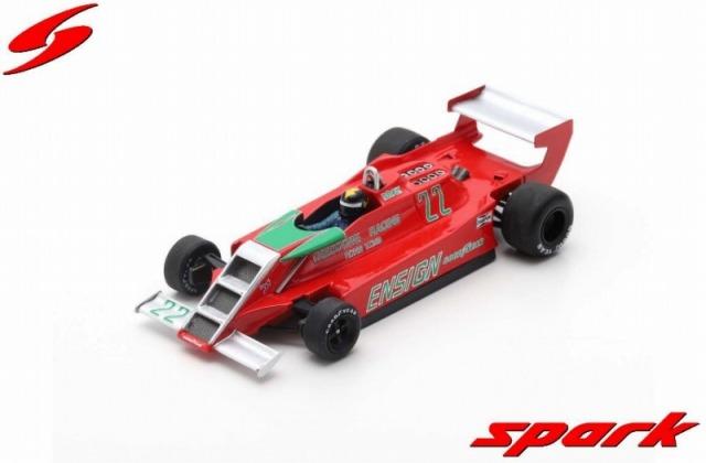 Spark 1/43 Ensign N179 No.22 Practice South African GP 1979 Derek Daly