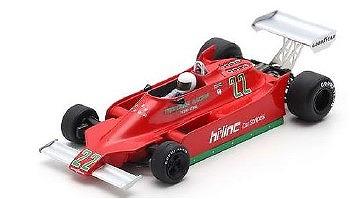 <予約> [Spark] 1/43 Ensign N179 No.22 British GP 1979 Patrick Gaillard