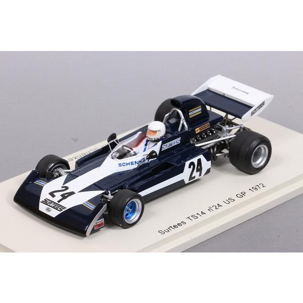 【スパーク】 1/43 Surtees TS14 No,24 US GP1972 Tim Schenken