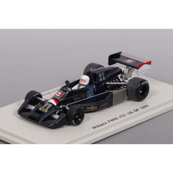 【スパーク】 1/43 ウィリアムズ FW05 US GP 1976 No.21