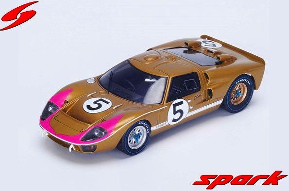 Spark 1/43 Mk II No.5 3rd 24H Le Mans 1966 R. Bucknum - D. Hutcherson