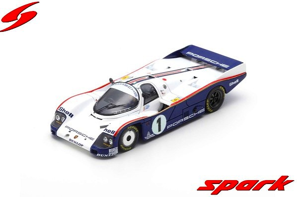 <予約> [Spark] 1/43 Porsche 962 C No.1 24H Le Mans 1985 J. Ickx - J. Mass