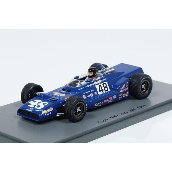 【スパーク】 1/43 Eagle MK7 No.48 2nd Indy 500 1969 Dan Gurney