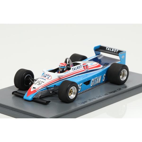 【スパーク】 1/43  Ligier JS19 3rd Las Vegas GP 1982 Eddie Cheever #25