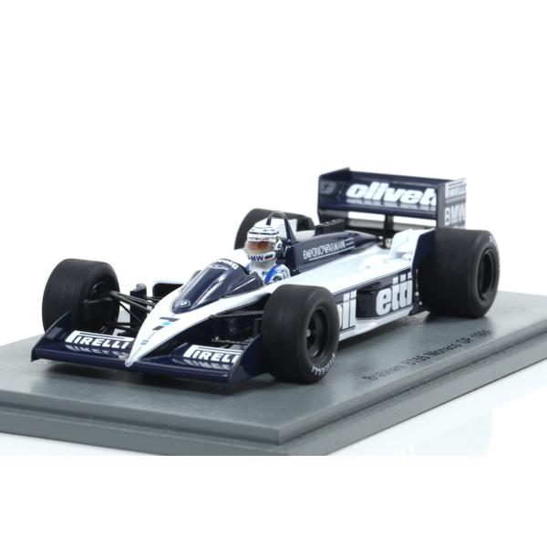 【Spark】 1/43 Brabham BT55 No.7 Monaco GP 1986 Riccardo Patrese