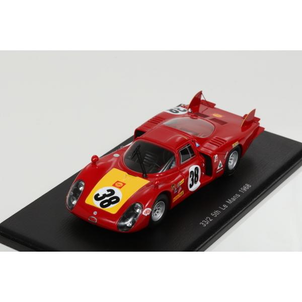 【スパーク】 1/43 33/2 No.38 5th Le Mans 1968  C. Facetti - S. Dini