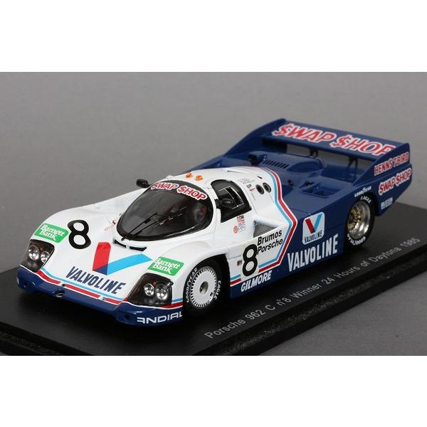【スパーク】 1/43 ポルシェ 962C No,8 デイトナ24時間 1985 優勝