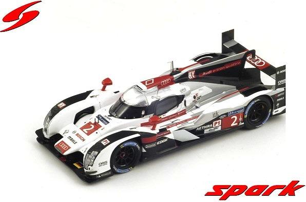 Spark 1/43 Audi R18 e-tron quattro No.2 優勝 24H Le Mans 2014