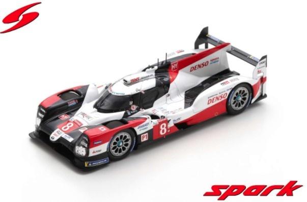 Spark 1/43 TOYOTA TS050 HYBRID No.8  Winner 24H Le Mans 2020 S. Buemi - B. Hartley - K. Nakajima