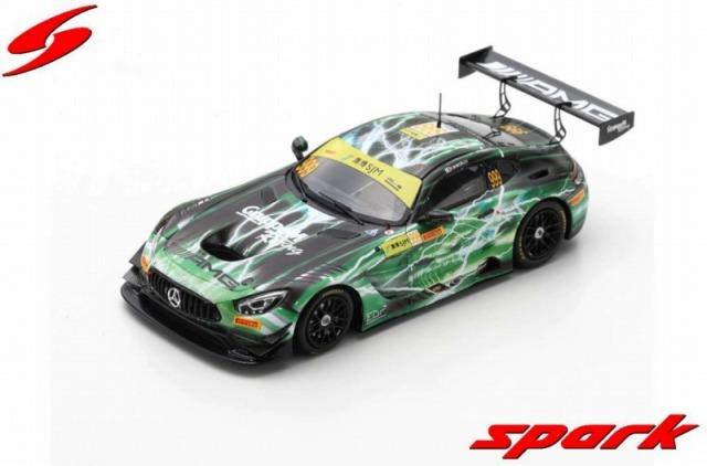 Spark 1/43 Mercedes-AMG GT3 No.999 Winner FIA GT World Cup Macau 2019   Raffaele Marciello